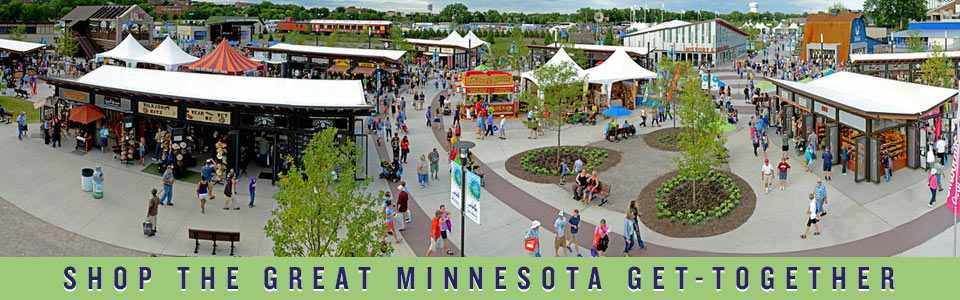 Minnesota State Fair | Photo of shops at the West End Market