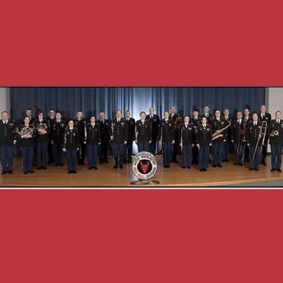 "Photo of The 34th Infantry Division ""Red Bull"" Band"