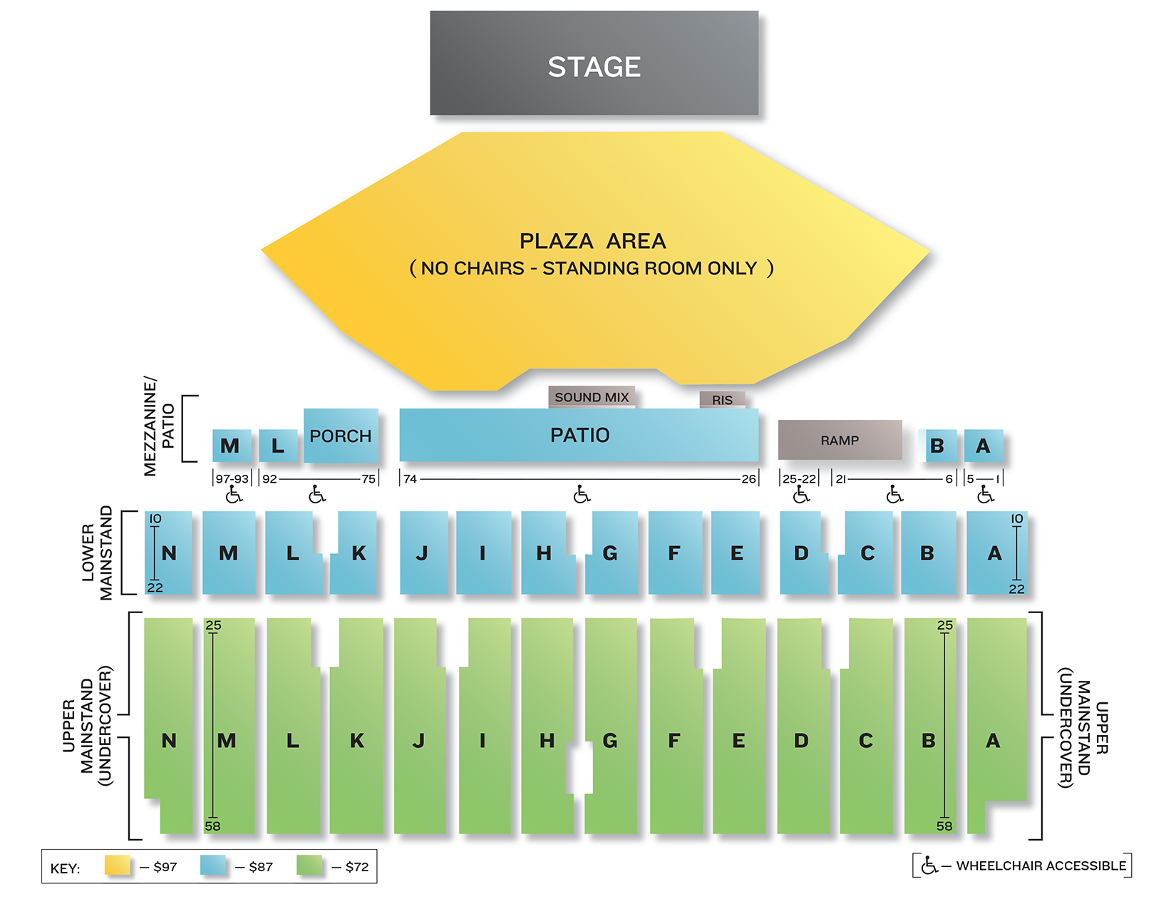 Minnesota state fair seating chart grandstand seating chart geenschuldenfo Image collections