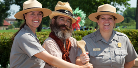 Photo of National Parks staff members