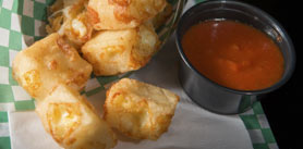 Photo of Deep Fried Grilled Cheese Bites