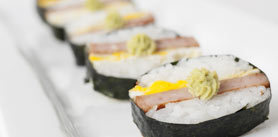 Photo of SPAM® Sushi