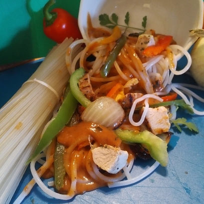 Photo of Spicy Thai Noodles