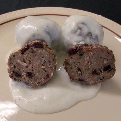 Photo of Cranberry Wild Rice Meatballs