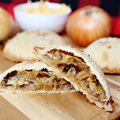 Photo of Brown Ale and Onion-Gouda Tipsy Pie