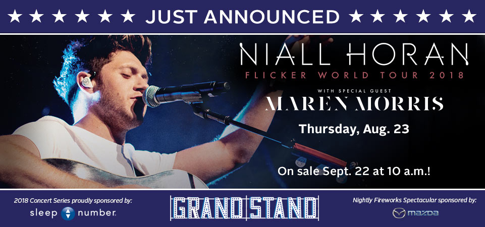 Just Announced - Niall Horan