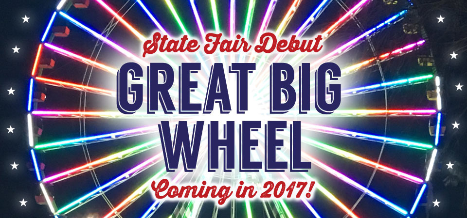 The Great Big Wheel coming in 2017!