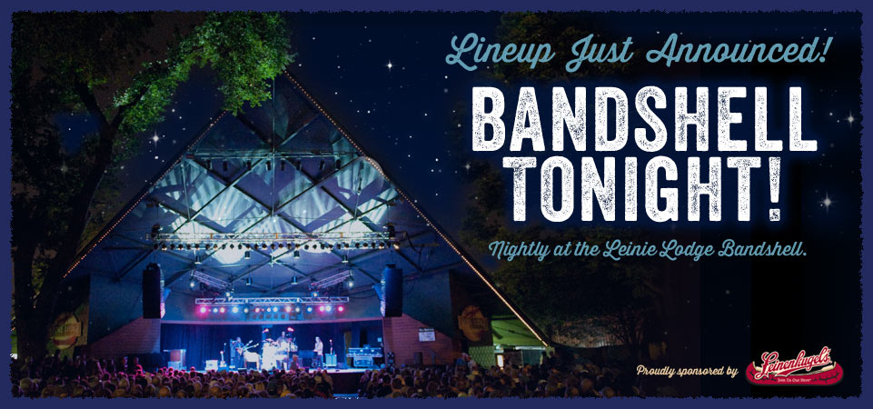 Bandshell Tonight! | Lineup Announced