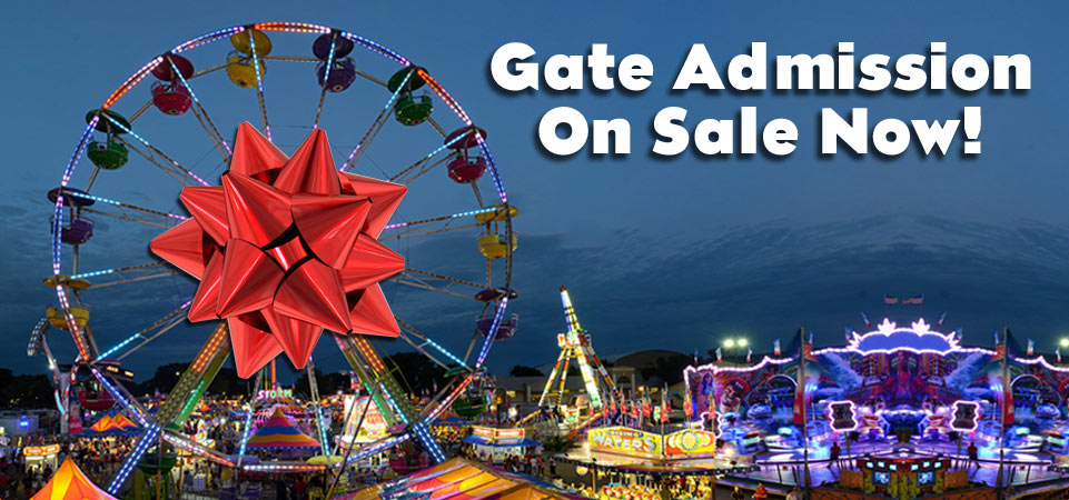 Gate Admission On Sale Now!
