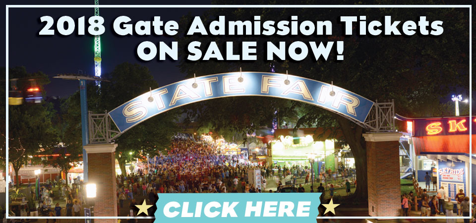 2018 Gate Admission On Sale Now!