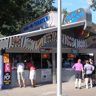 Blue Moon Dine-In Theater
