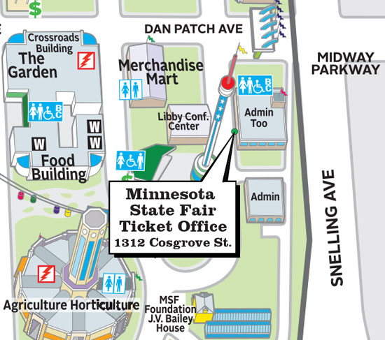 Mn State Fair Map 2020.Grandstand Tickets Minnesota State Fair