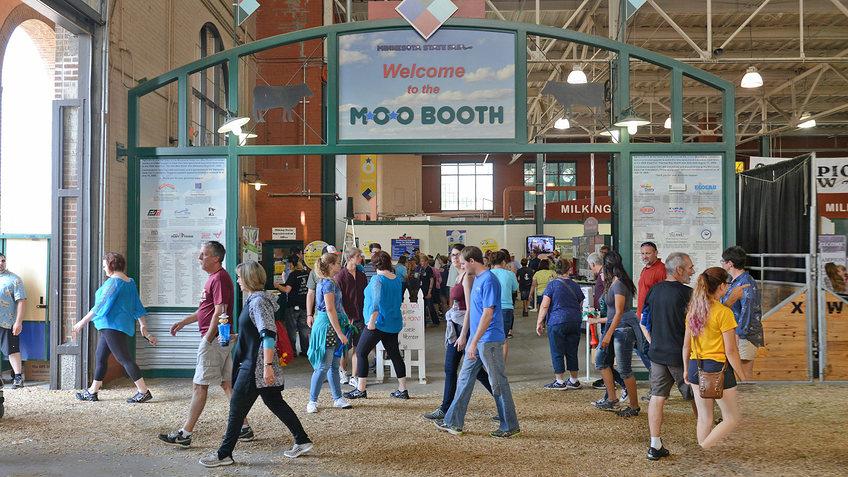 Moo Booth Minnesota State Fair