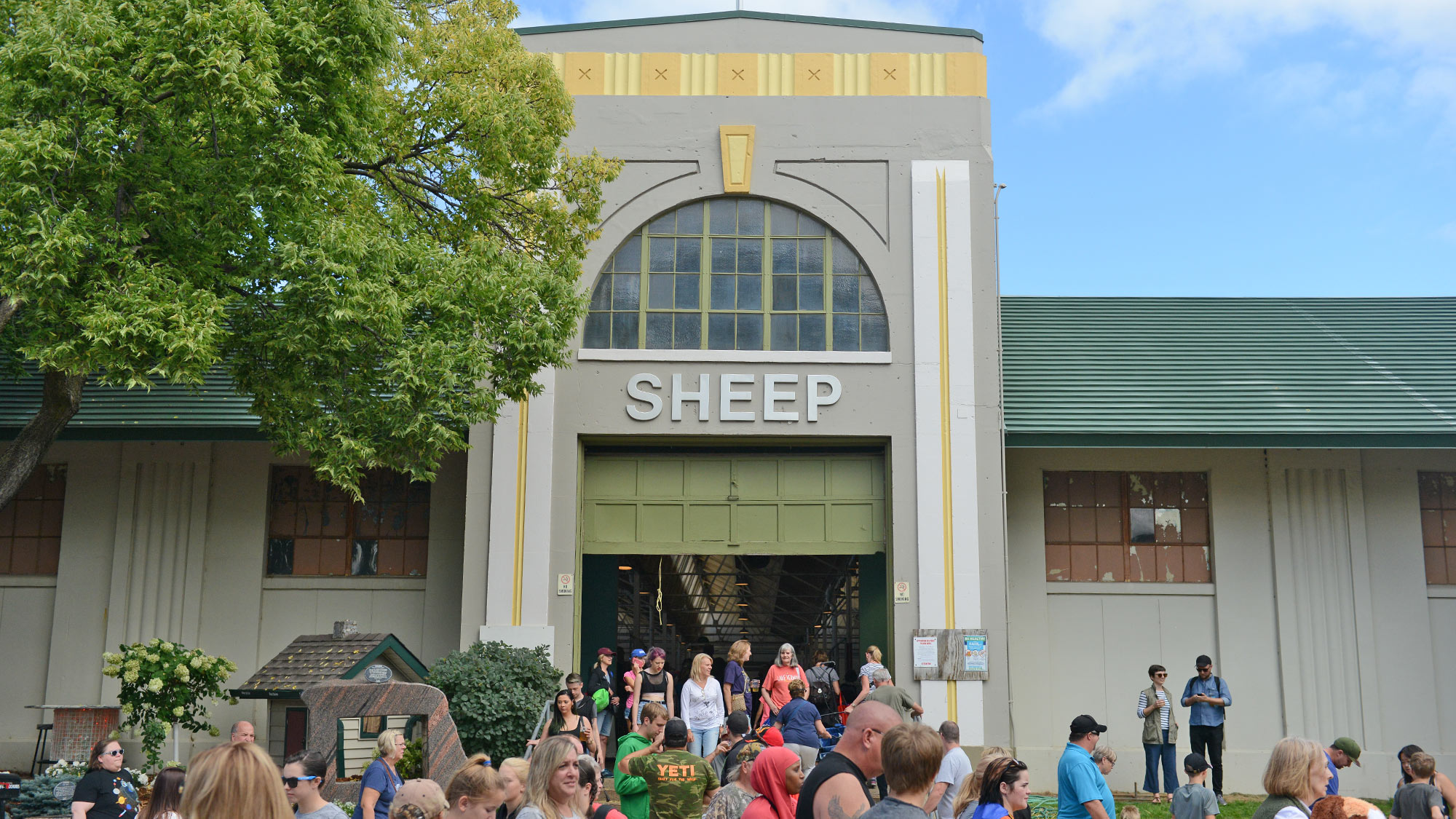 Sheep & Poultry Barn