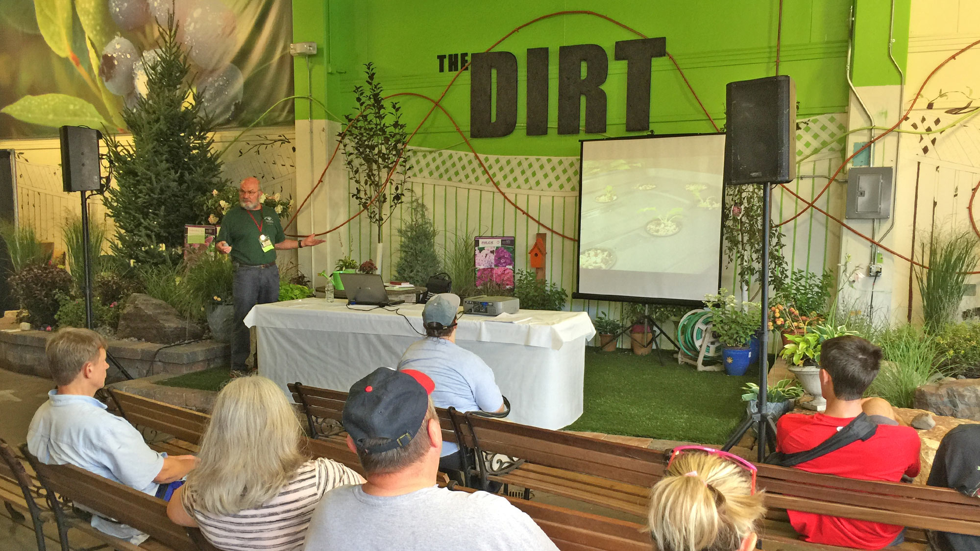 The DIRT Demo Stage