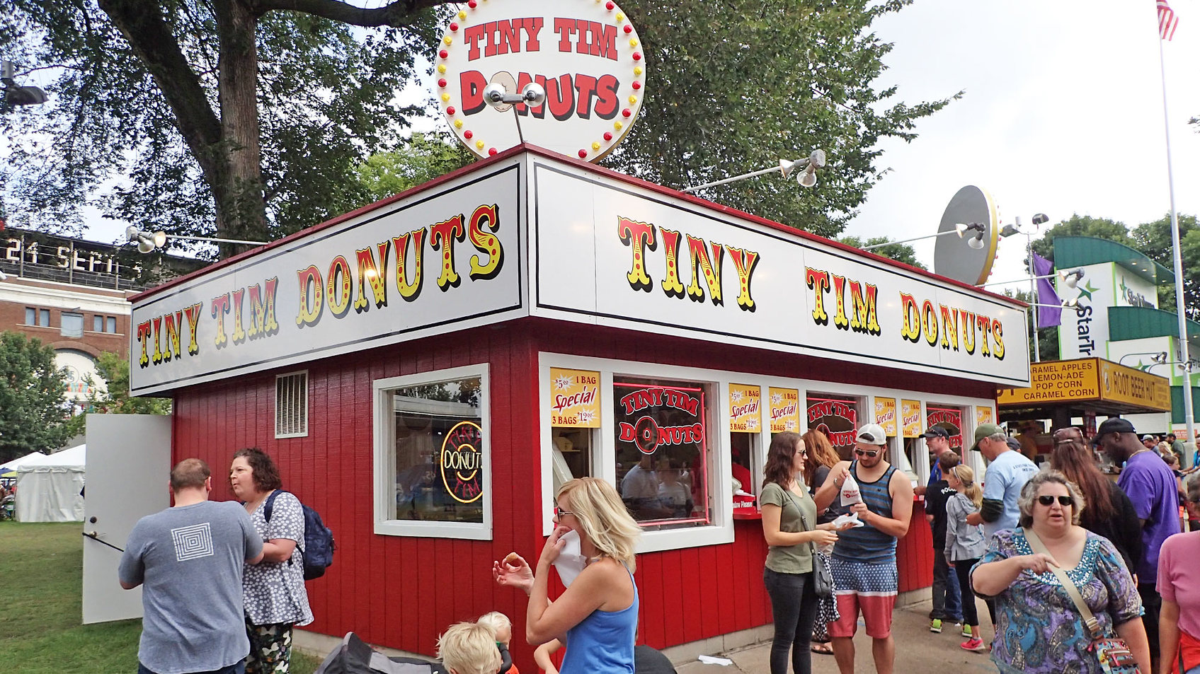 Tiny Tim Miniature Donuts