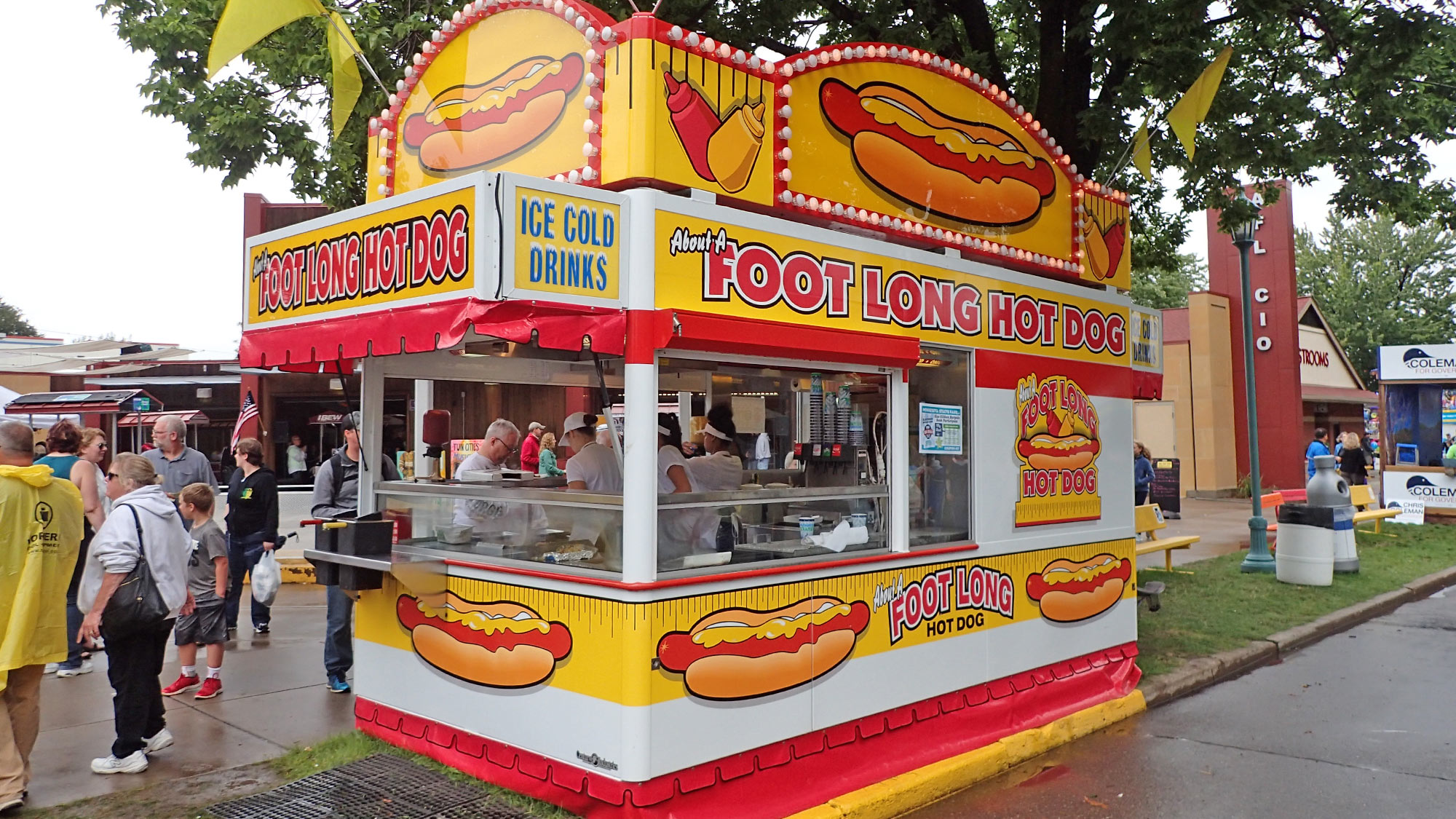 About a Foot-Long Hot Dog