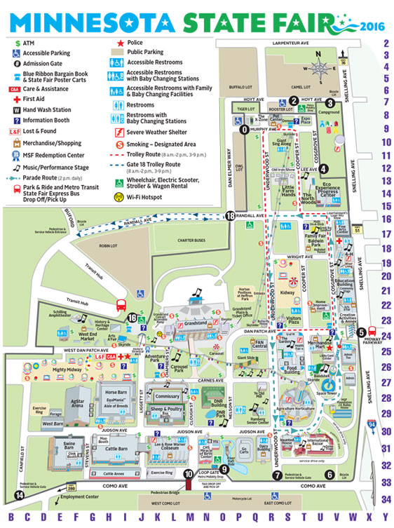 Map Of Mn State Fair Show Me A Map Of Minnesota Cool Maps,   World Map Database