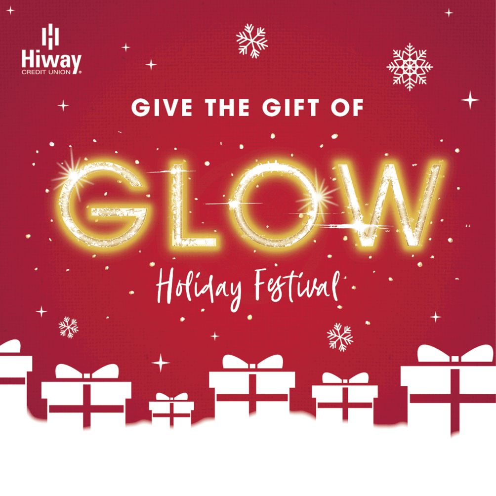 give the glow holiday festival logo